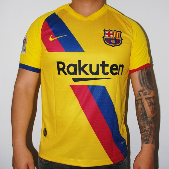 BARCELONA Other - BARCELONA THIRD AWAY JERSEY SOCCER JERSEY  MESSI